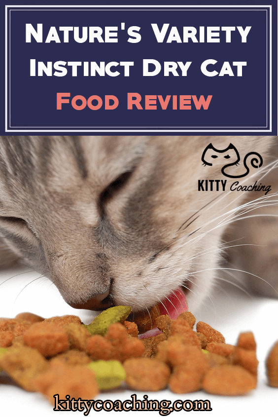 Nature's Variety Instinct Dry Cat Food review