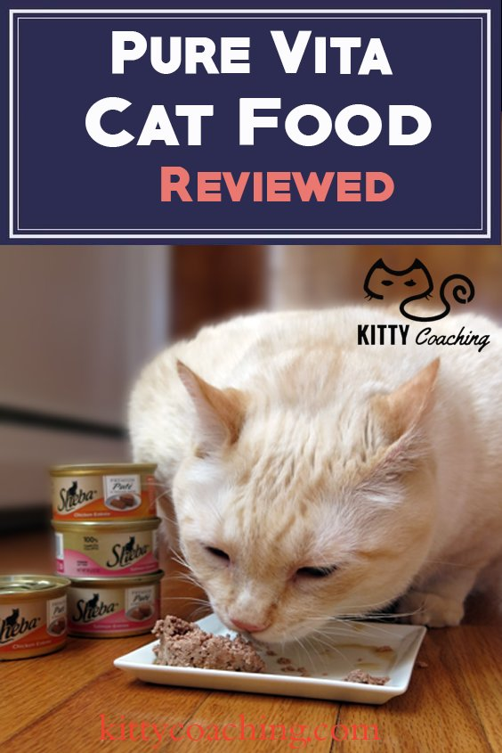 we review pure vita cat food