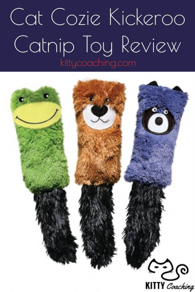Cat Cozie Kickeroo Catnip Toy Review